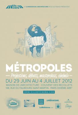 Métropoles : Festival Ville et cinéma