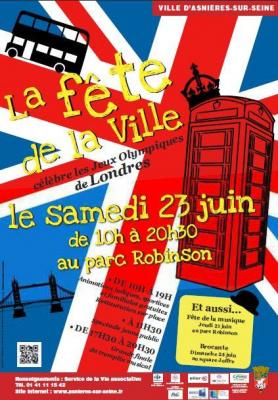 Asnières-sur-Seine : ville en fête !