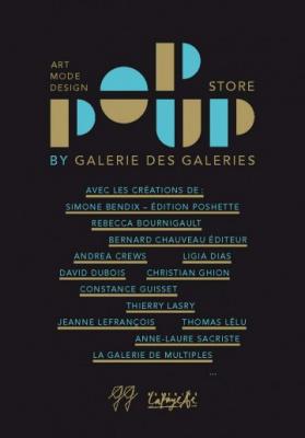 Pop-up Store à La Galerie des Galeries
