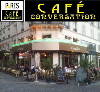 Paris Café Conversation