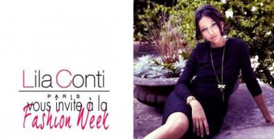 Lila Conti fait sa Fashion Week