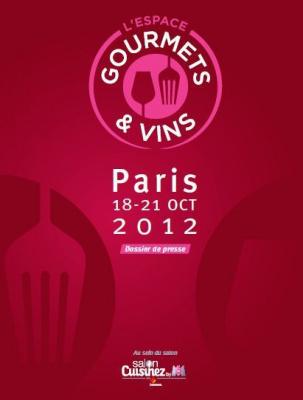 Gourmets & vins au salon cuisinez by M6 2012