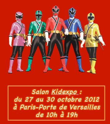 Les Power Rangers Super Samourai