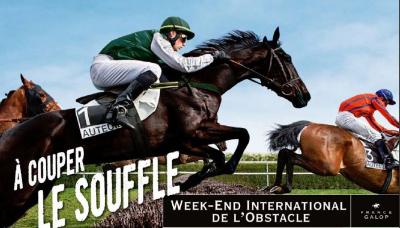 Hippodrome d'Auteuil : Week-End International de l'Obstacle