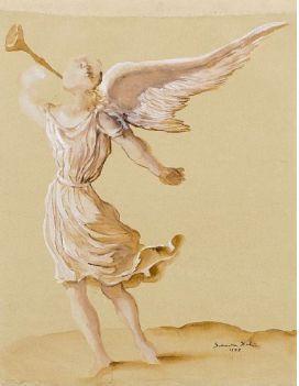 Salvador Dali, oeuvres sur papier à la Galerie Messine