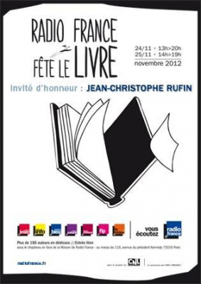 Radio France fête le livre 2012