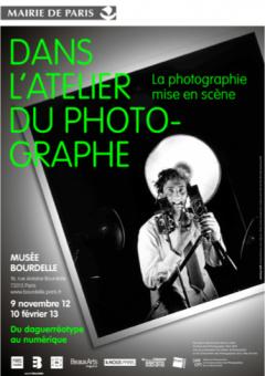 Dans l'atelier du photographe au Musée Bourdelle