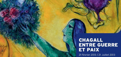Chagall entre guerre et paix au Musée du Luxembourg