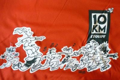 Course 10 KM l'equipe
