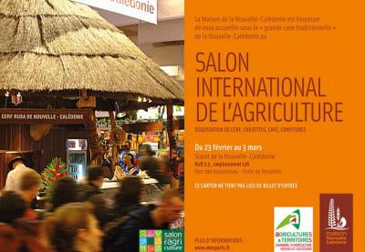 L'agriculture calédonienne représentée au Salon de l'Agriculture 2013