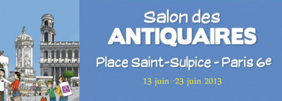 Le Salon des Antiquaires, Place Saint Sulpice 2013
