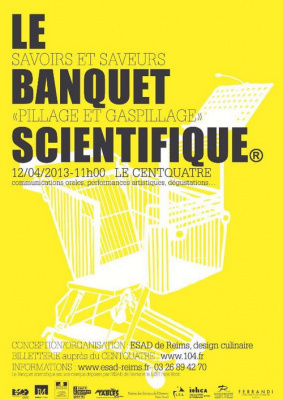 Le Banquet Scientifique au Centquatre