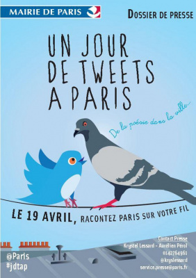 Un jour de tweets à Paris