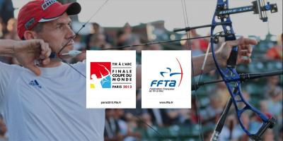 Finale de la Coupe du Monde de Tir à l'Arc 2013 à Paris