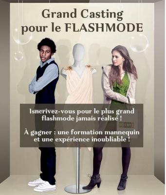 Le plus grand Flash Mode de France à Rosny 2