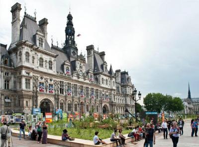 Journ es du patrimoine 2016 l 39 h tel de ville de paris for Les jardins de la ville paris