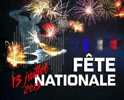Feu d'artifice du 14 Juillet 2013 à Poissy