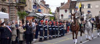 Fête Nationale du 14 Juillet 2013 à Fontainebleau