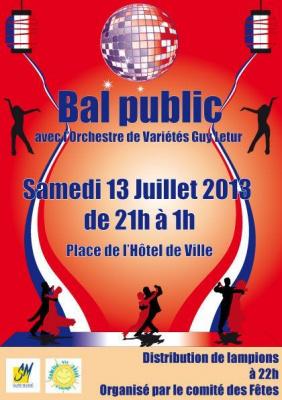 Fête Nationale du 14 Juillet 2013 à Saint-Mandé