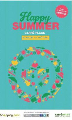 Happy Summer au centre de shopping Carrésénart