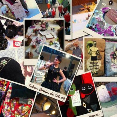 Le salon grain de sel 2013 - Salon des loisirs creatifs paris ...