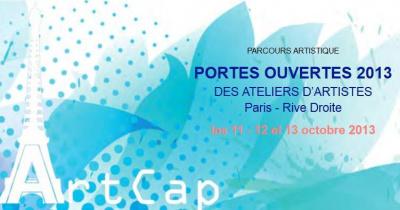 Portes ouvertes des ateliers d'artistes - Paris Rive Droite 2013