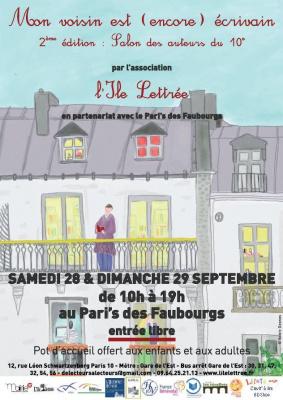 Le Salon des Écrivains du 10ème arrondissement