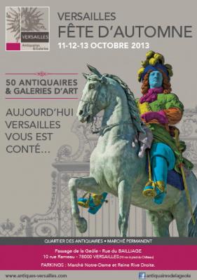 la Fête d'Automne des antiquaires et galeries d'art de Versailles 2013