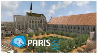 Visite virtuelle en 3D interactive du Collège des Bernardins
