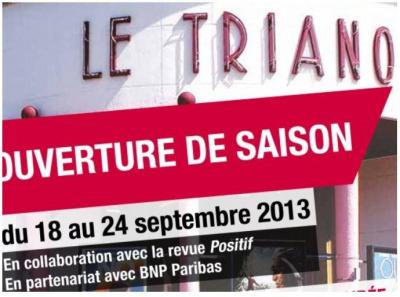 Ouverture de Saison du cinéma Le Trianon