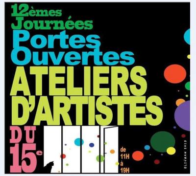 Portes Ouvertes 2013 des Ateliers d'Artistes du 15ème