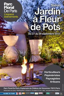 Salon Jardin à Fleur de pots