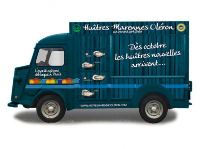 La cabane à huître itinérante Marennes Oléron