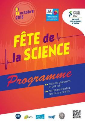 La Fête de la Science 2013 à la Faculté des Sciences de l'Université Paris-Sud