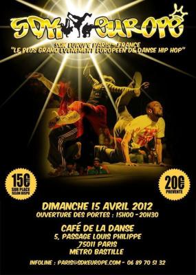 SDK EUROPE PARIS - Dimanche 15 Avril 2012