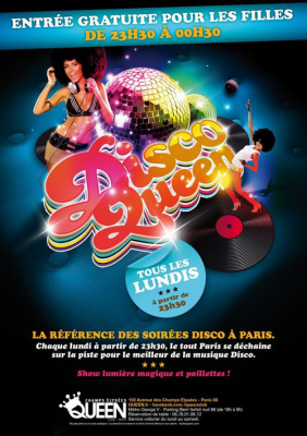 Disco Queen @ Queen Club Paris