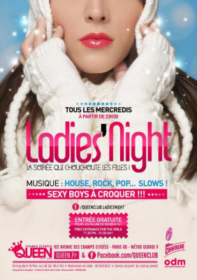 Ladies Night @ Queen Club Paris