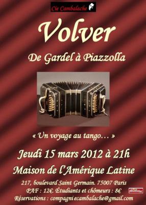 Volver ! de Gardel à Piazzolla