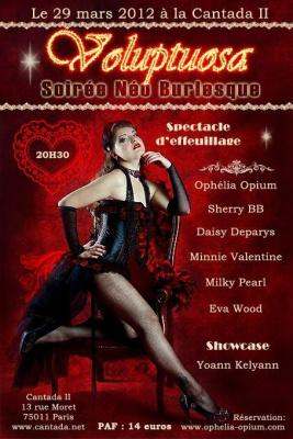 La Voluptuosa - soirée Burlesque!