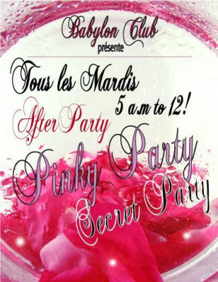 PinkY Party Secret PartY
