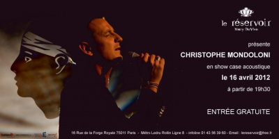 Showcase CHRISTOPHE MONDOLINI