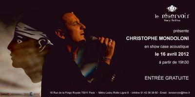 Showcase CHRISTOPHE MONDOLINI