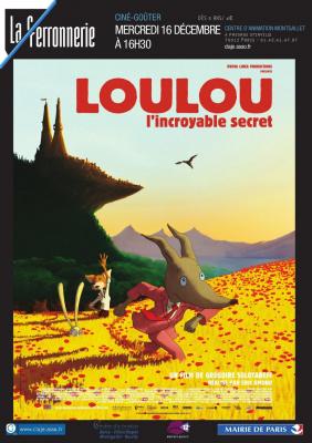 Ciné-Goûter de Noël : Loulou, l'incroyable secret