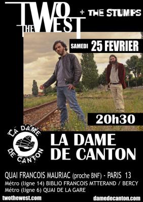 TWO THE WEST @ LA DAME DE CANTON