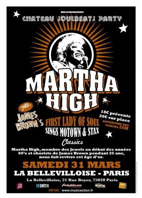 Martha High sings Motown & Stax