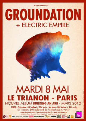 GROUNDATION on Tour! A Paris le 8 Mai!