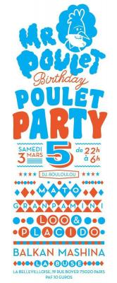 Monsieur Poulet Birthday Party V