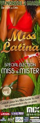 Miss Latina spéciale élection Miss & Mister