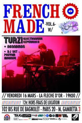 FRENCHMADE PARTY VOL.6 FEAT. TURZI ELECTRONIQUE EXPERIENCE @ LA FLÈCHE D'OR