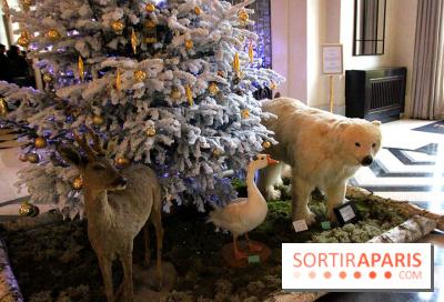 Noël au Trianon palace avec Deyrolle